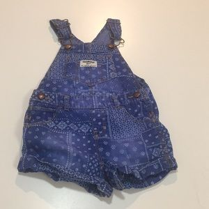 Osk Kosh overall shorts
